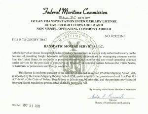 Hanseatic License FMC