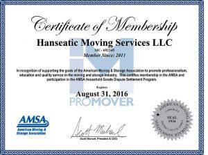 Hanseatic Membership AMSA
