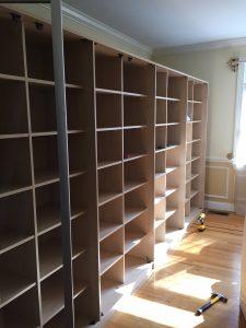 Hanseatic Moving Company - Shelf Installation
