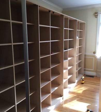 Hanseatic Moving Company - Shelf Installation