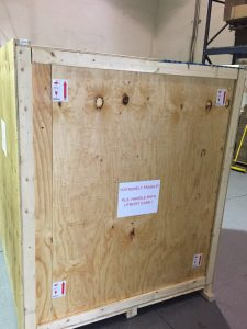 Hanseatic - Extremely Fragile Shipping Box