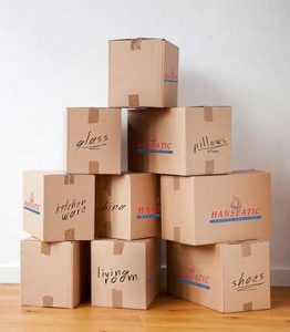 Hanseatic Services - Boxes for Moving