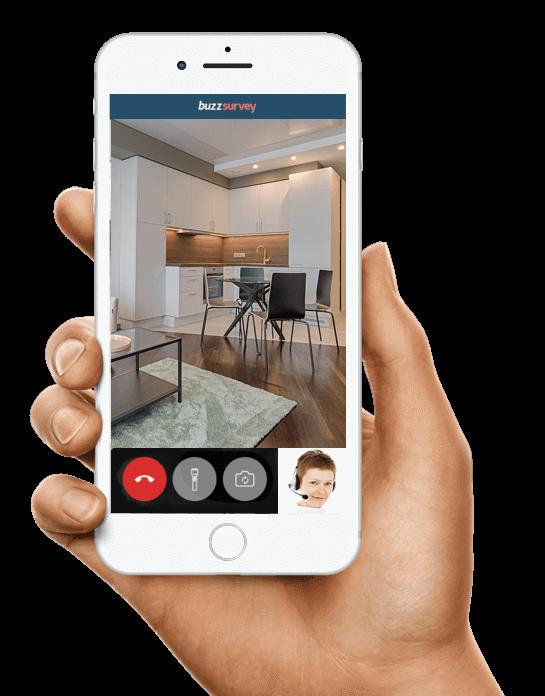 App for virtual survey